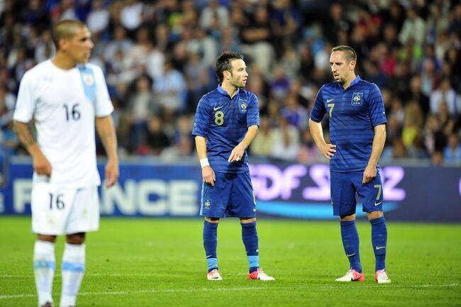 Ribéry assure jouer les grands frères avec Valbuena chez les Bleus