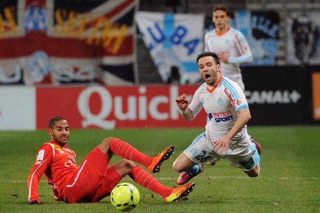Valbuena a été « blessé »  par Canal + et Pierre Ménès après OM-Nancy