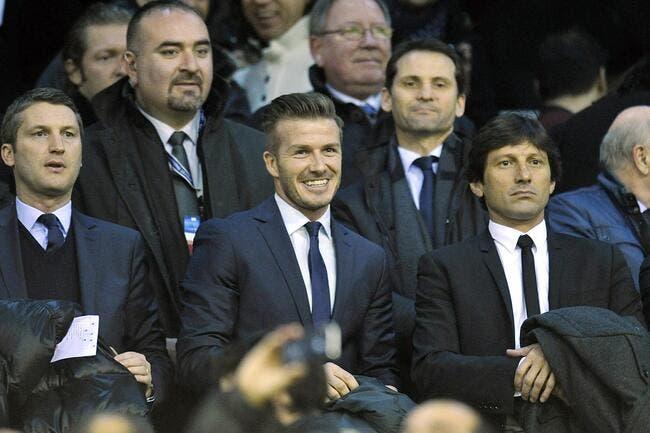 « Beckham, il ne parle pas avec toi » s'amuse Leonardo avec Canal+