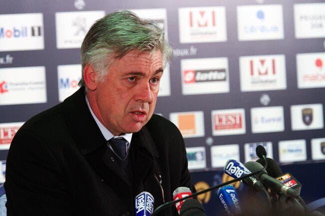 Carlo Ancelotti tenté par un départ du PSG en juin ?