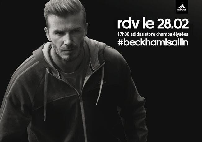 Avis de tempête Beckham annoncé jeudi sur les Champs-Elysées