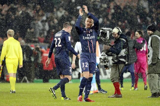 Beckham a été touché par l'accueil du PSG et du Parc