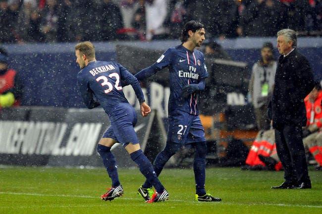 Beckham, premier test réussi au PSG