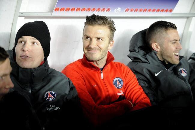Malgré la rivalité OM-PSG, Valbuena est fan absolu de Beckham