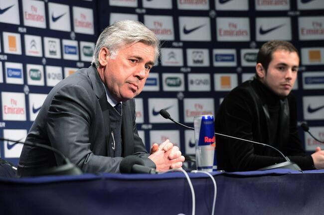 Le PSG est « la meilleure équipe », un point c'est tout rappelle Ancelotti
