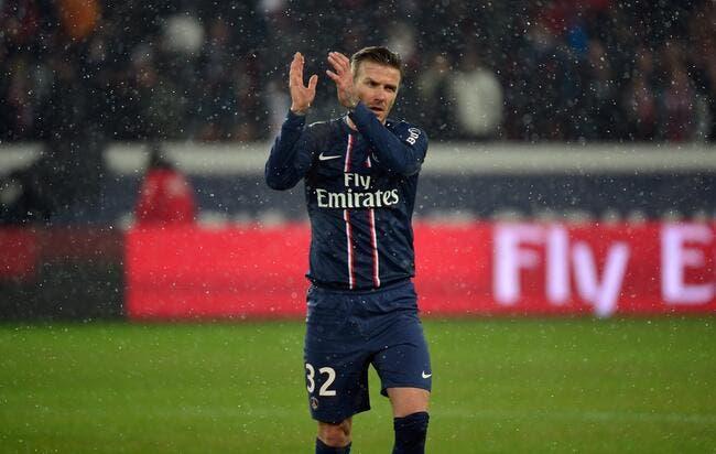 Discuter de Beckham au PSG, c'est ne rien connaître au foot selon Leonardo