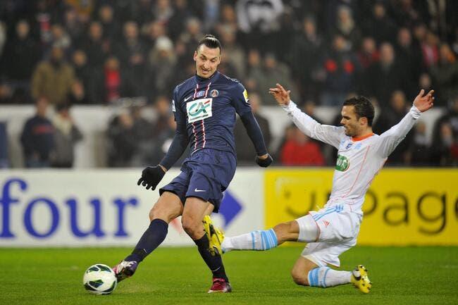 Ibrahimovic a fait mal à l'OM reconnaît Baup