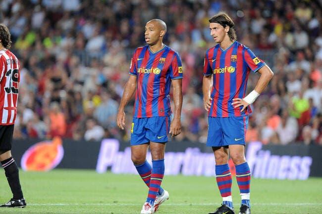 Le PSG a « un joueur extraordinaire » avec Ibrahimovic assure Henry