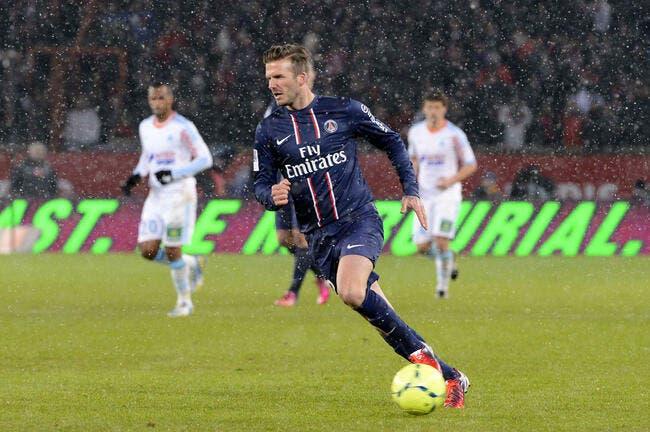 Beckham joue pas mal pour un top-model ironise Leonardo