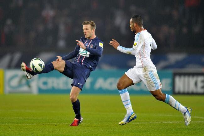 Beckham n'a pas déçu Ancelotti lors de PSG-OM
