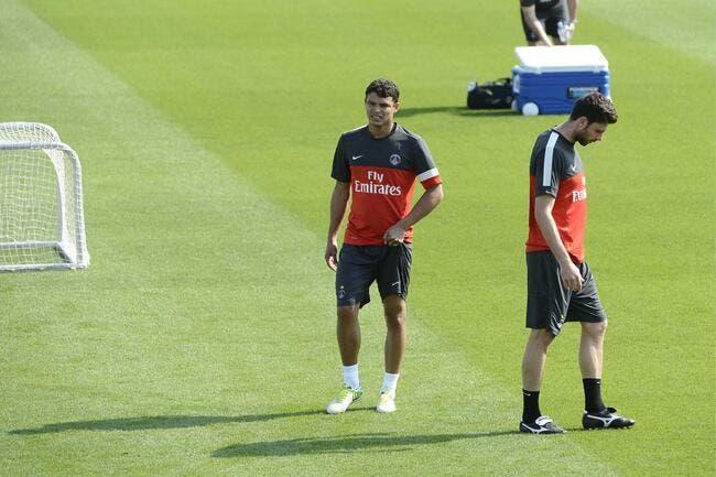 Le PSG retrouve les Thiago à l'entraînement