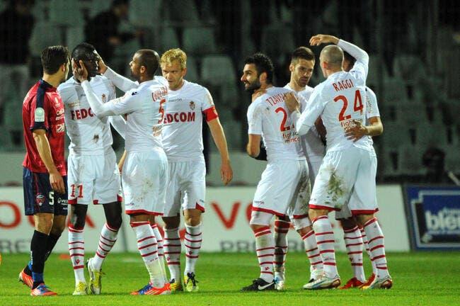 Monaco ne lâche pas Nantes
