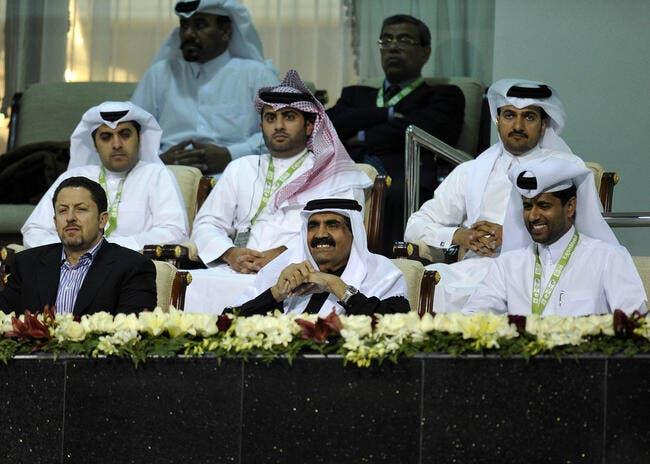 L'Emir du Qatar présent au Parc pour PSG-Lille
