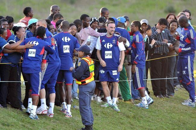 Ribéry s'estime victime d'un lynchage en Afrique du Sud