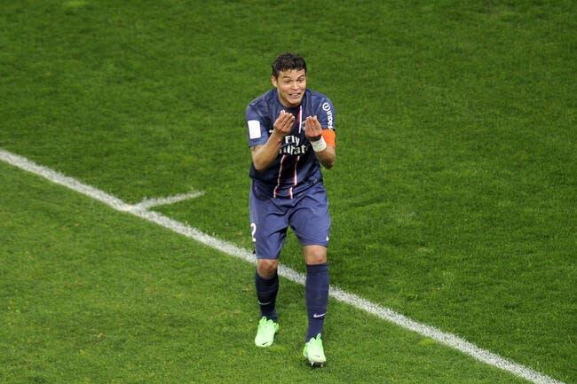 Le PSG ne vendra pas Thiago Silva, même pour un milliard