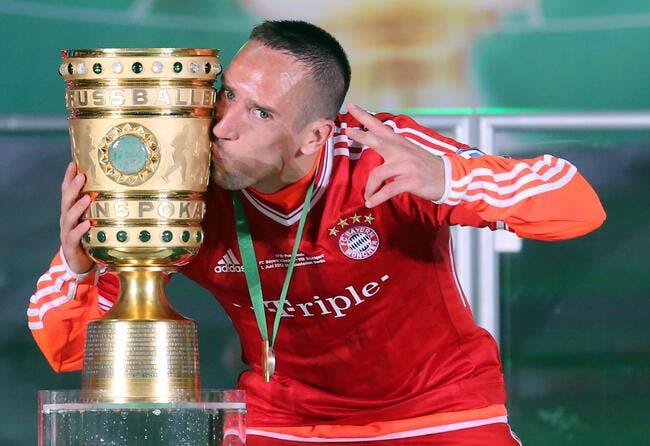 Ribéry a du mal à croire à sa saison de rêve avec le Bayern