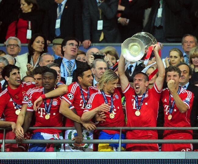Ribéry a mis la Coupe d'Europe dans son lit pour une nuit