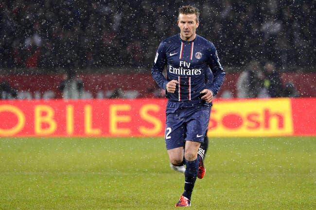 Ancelotti reste prudent sur l'avenir de Beckham au PSG