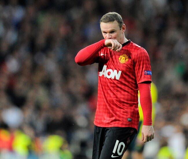 Une porte de sortie nommée PSG pour Rooney ?