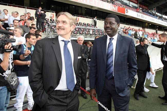 Diouf et Tapie, ça pourrait faire 10.000 personnes contre Labrune