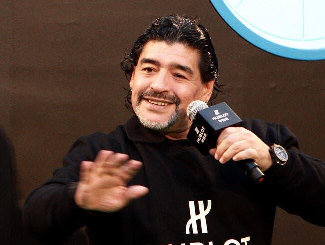 Maradona ne viendra pas à Montpellier confirme Nicollin