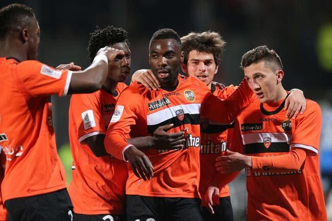 Lorient s'offre un carton et le maintien
