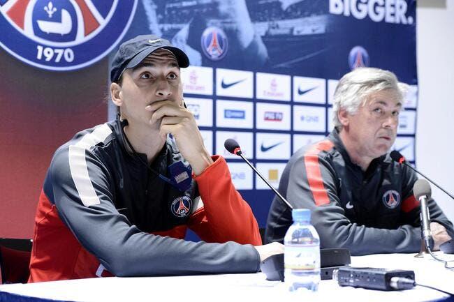 Ibrahimovic n'envisage pas de quitter le PSG pour la Juventus