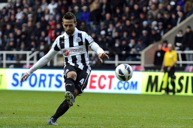 Newcastle ne lâchera pas Cabaye à moins de 25ME !