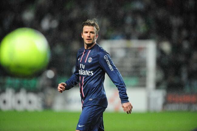 magasin d'usine f6b54 549dc Foot PSG - Beckham heureux de redevenir un joueur de ...