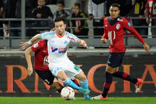 Valbuena a le même talent avec l'OM que chez les Bleus constate Baup