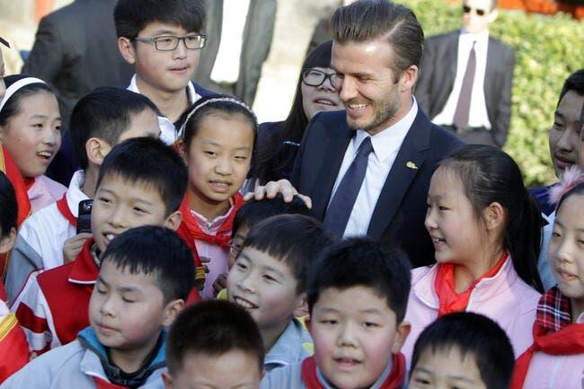 Beckham riposte en force aux critiques sur son voyage en Chine