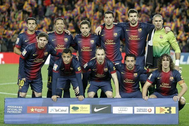 Le FC Barcelone champion d'Espagne - Foot 01