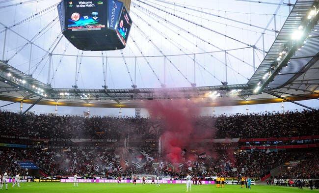 Bordeaux, le déplacement du siècle pour 10.000 fans de Francfort !