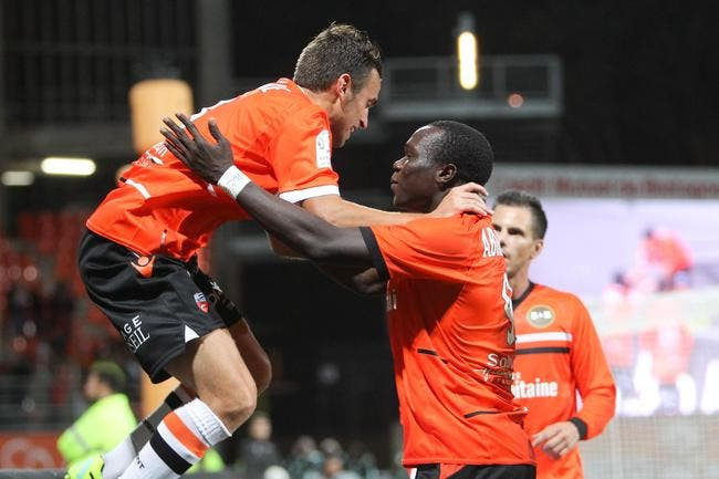 Lorient gagne à l'extérieur et ça lui fait du bien