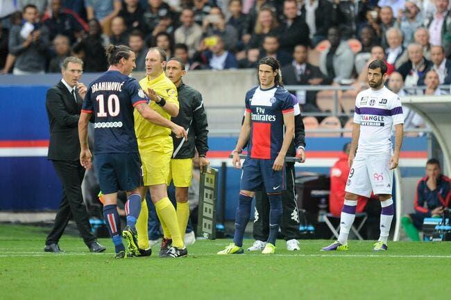 PSG-TFC, Paris n'a pas été (trop) aidé par l'arbitre