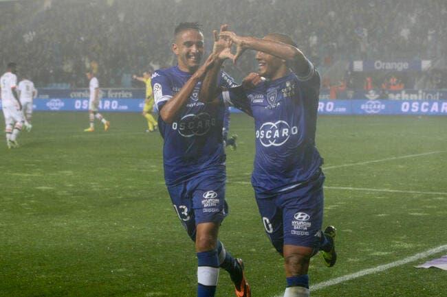 Boudebouz-Khazri, le duo d'enfer de Bastia face à Lorient