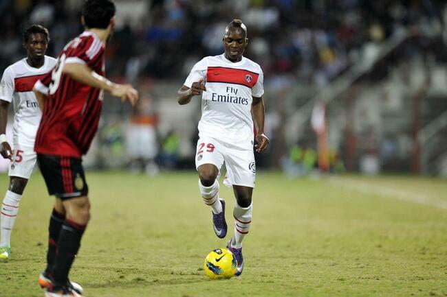 Kebano quitte le PSG pour Charleroi