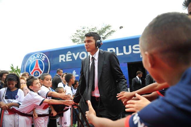 Le Barça scotché d'avoir vu Thiago Silva rester au PSG