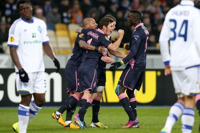 Bordeaux joue l'Europa League en roublard