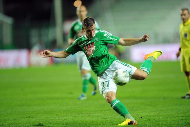 Tabanou a vécu un drôle de match avec l'ASSE face à Toulouse