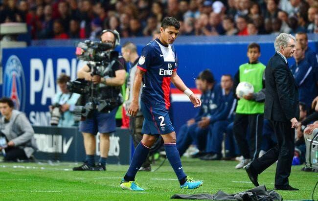 Thiago Silva out au PSG, Blanc se pose des questions