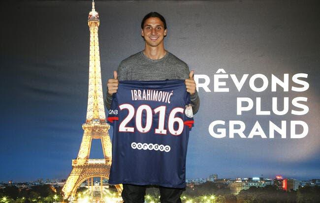 Ibrahimovic promet la Ligue des champions au PSG
