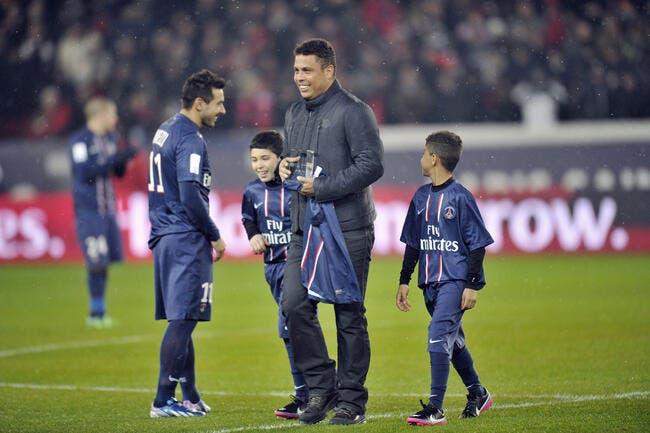Le PSG n'a pas Cristiano Ronaldo, mais Ronaldo dans la poche