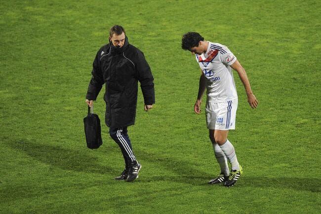 Garde détaille le forfait de Gourcuff pour OL-Juventus