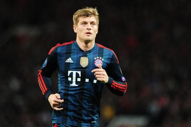 Man United prêt à battre un record pour recruter Kroos