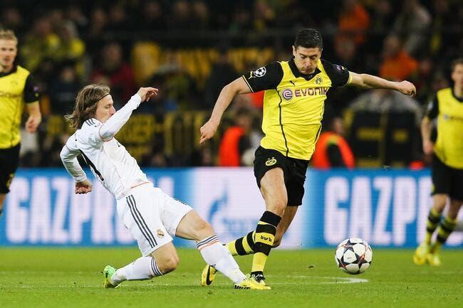 Grosse frayeur pour le Real à Dortmund