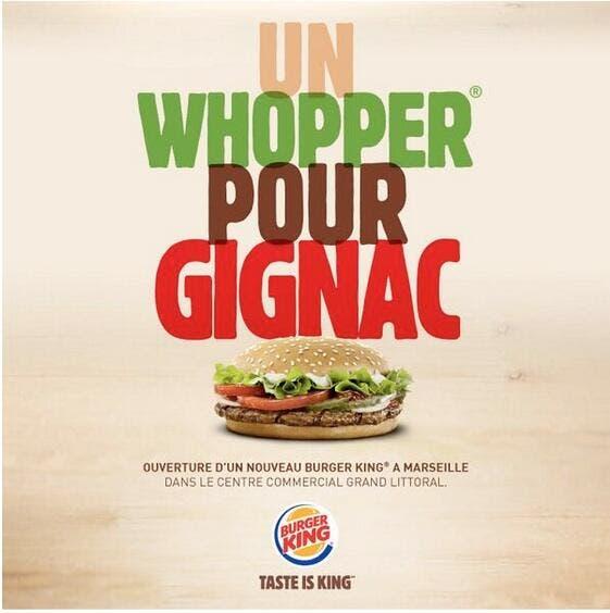 Burger King se paye Gignac pour sa pub