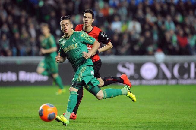 Rennes prend un point, l'ASSE en perd deux