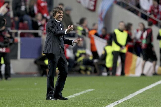 Conte met un vent à Monaco pour l'après-Ranieri