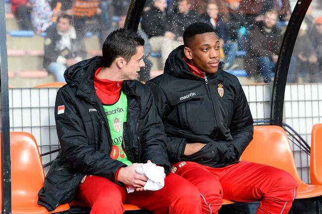 Antony Martial déjà sur le départ de Monaco ?